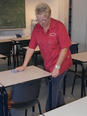Schoonmaak scholen in Dordrecht